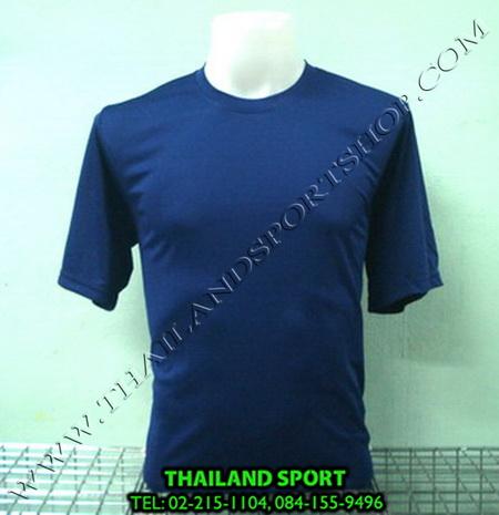 เสื้อกีฬาสี สีล้วน mhee cool รุ่น pc 05 (สีกรม n)
