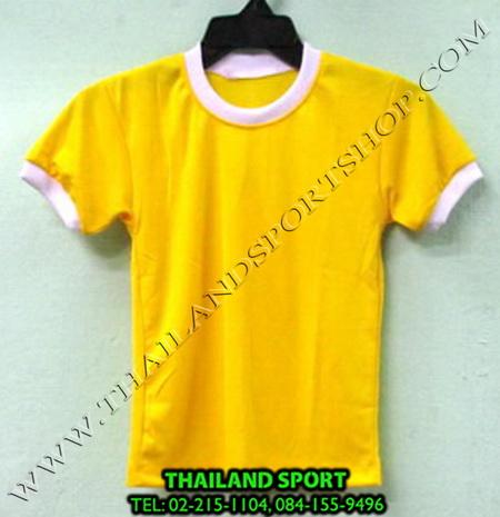 เสื้อกีฬาเด็ก คอกลม SKY STAR (สีเหลือง Y) ชาย, หญิง