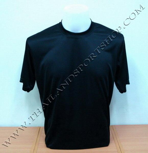 เสื้อกีฬาสี สีล้วน SKY STAR รุ่น 001 (สีดำ A)