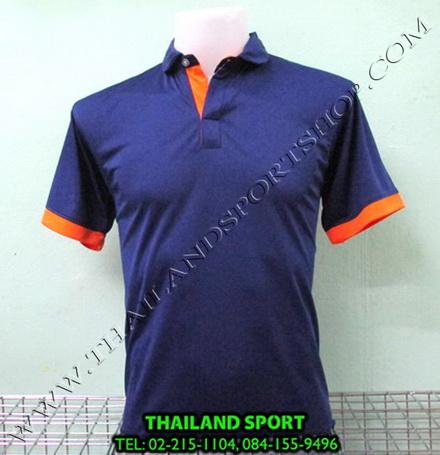 เสื้อโปโล กีฬา MHEE COOL รุ่น PL-2 (สีกรม N)