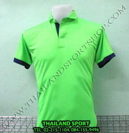 เสื้อโปโล กีฬา MHEE COOL รุ่น PL-2 (สีเขียว G)