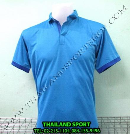 เสื้อโปโล กีฬา MHEE COOL รุ่น PL-2 (สีฟ้า L)