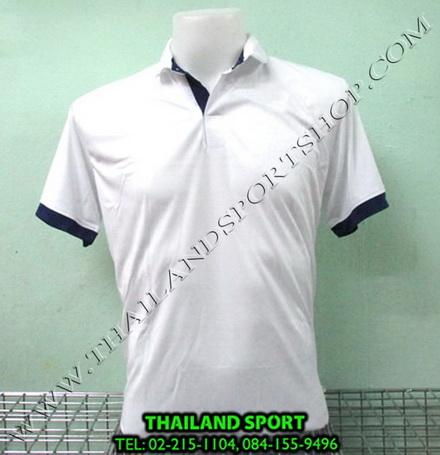 เสื้อโปโล กีฬา MHEE COOL รุ่น PL-2 (สีขาว W)