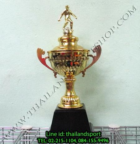ถ้วยรางวัล star1980 รุ่น t13-2 (สีทอง g) หัวสัญลักษณ์รูป นักกีฬา แบบเดียว n6 net pro ok