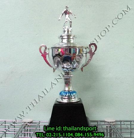 ถ้วยรางวัล star1980 รุ่น t11-2 (สีเงิน s) หัวสัญลักษณ์รูป นักกีฬา แบบเดียว n6 net pro ok