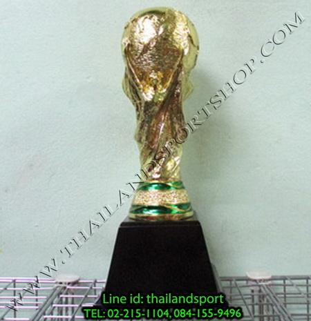 ถ้วยรางวัล star1980 รุ่น world cup (สีทอง g) รูปจำลองถ้วยบอลโลก แบบเดียว n6 net pro ok