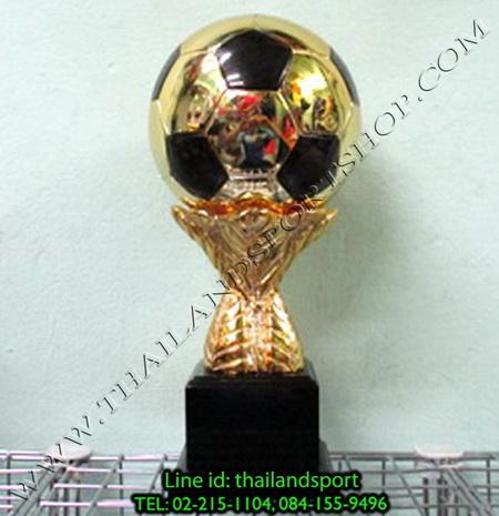 ถ้วยรางวัล star1980 รุ่น ball (สีทอง g) รูปลูกฟุตบอล แบบเดียว n6 net pro ok