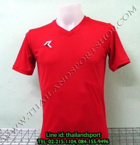 เสื้อกีฬา เรียล REAL รหัส RAX002 (สีแดง R)
