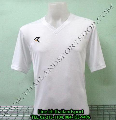 เสื้อกีฬา เรียล REAL  รหัส RAX002 (สีขาว W)