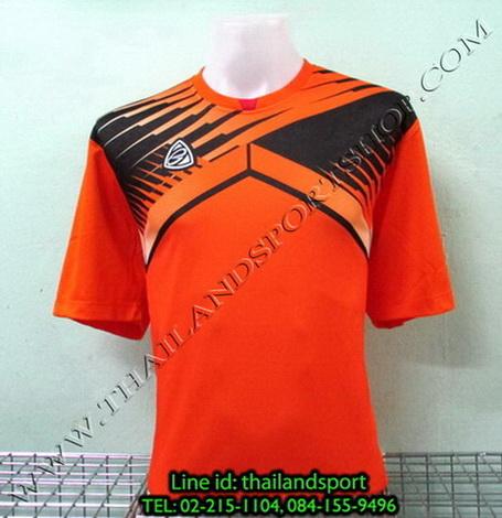 เสื้อกีฬา อีโก้ EGO SPORT รหัส EG-5105 (สีส้ม O) พิมพ์ลาย