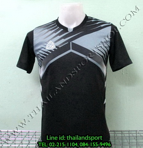 เสื้อกีฬา อีโก้ EGO SPORT รหัส EG-5105 (สีดำ A) พิมพ์ลาย