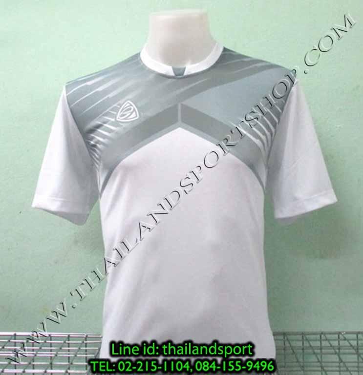 เสื้อกีฬา อีโก้ EGO SPORT รหัส EG-5105 (สีขาว W) พิมพ์ลาย