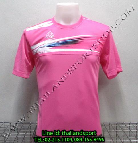 เสื้อกีฬา อีโก้ สปอร์ต EGO SPORT รุ่น EG-5106 (สีชมพู P) พิมพ์ลาย