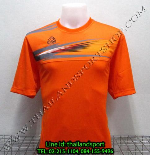 เสื้อกีฬา อีโก้ สปอร์ต EGO SPORT รุ่น EG-5106 (สีส้ม O) พิมพ์ลาย