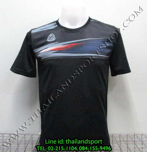 เสื้อกีฬา อีโก้ สปอร์ต EGO SPORT รุ่น EG-5106 (สีดำ A) พิมพ์ลาย
