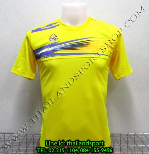 เสื้อกีฬา อีโก้ สปอร์ต EGO SPORT รุ่น EG-5106 (สีเหลือง Y) พิมพ์ลาย