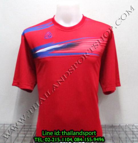 เสื้อกีฬา อีโก้ สปอร์ต EGO SPORT รุ่น EG-5106 (สีแดง R) พิมพ์ลาย