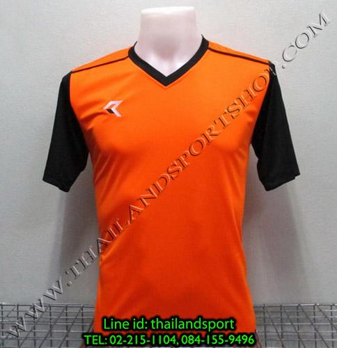 เสื้อกีฬา เรียล REAL รหัส RAX004 (สีส้ม O)