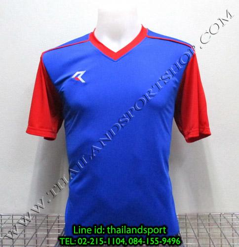 เสื้อกีฬา เรียล REAL รหัส RAX004 (สีน้ำเงิน B)