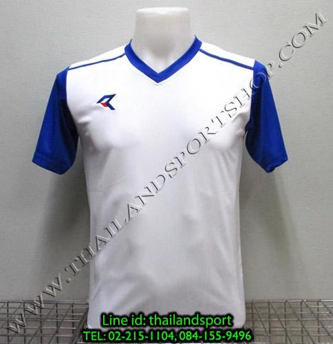 เสื้อกีฬา เรียล REAL รหัส RAX004 (สีขาว W)