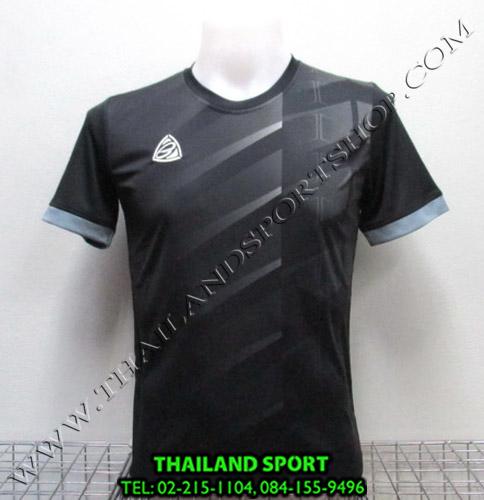 เสื้อ อีโก้ EGO SPORT รุ่น EG-5110 (สีดำ A) พิมพ์ลาย