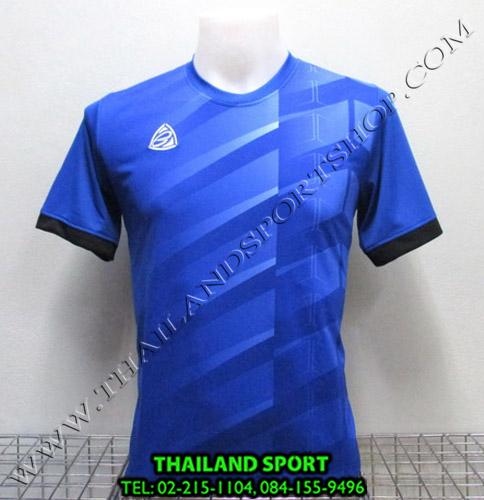 เสื้อ อีโก้ EGO SPORT รุ่น EG-5110 (สีน้ำเงิน B) พิมพ์ลาย
