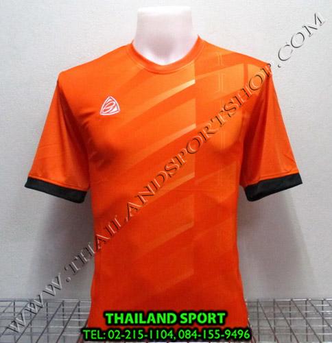 เสื้อ อีโก้ EGO SPORT รุ่น EG-5110 (สีส้ม O) พิมพ์ลาย