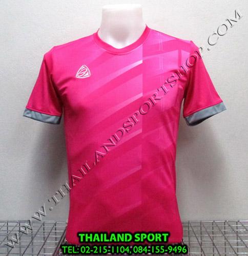 เสื้อ อีโก้ EGO SPORT รุ่น EG-5110 (สีชมพู P) พิมพ์ลาย