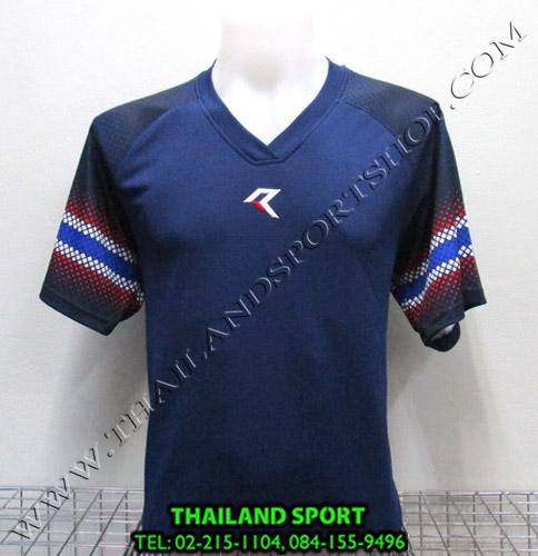 เสื้อกีฬา เรียล REAL รหัส RAX005 (สีกรม N)