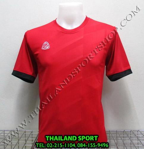 เสื้อ อีโก้ EGO SPORT รุ่น EG-5110 (สีแดง R) พิมพ์ลาย