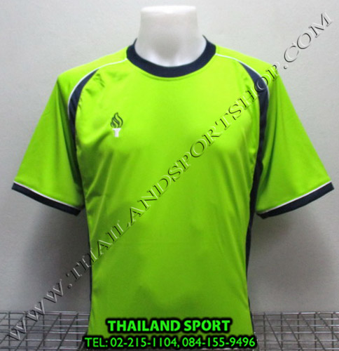 เสื้อกีฬา สปอร์ต เดย์ SPORT DAY รุ่น SA001 (สีเขียว-กรม LG) ตัดต่อ