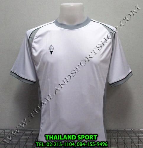 เสื้อกีฬา สปอร์ต เดย์ SPORT DAY รุ่น SA001 (สีขาว-เทา W GR) ตัดต่อ