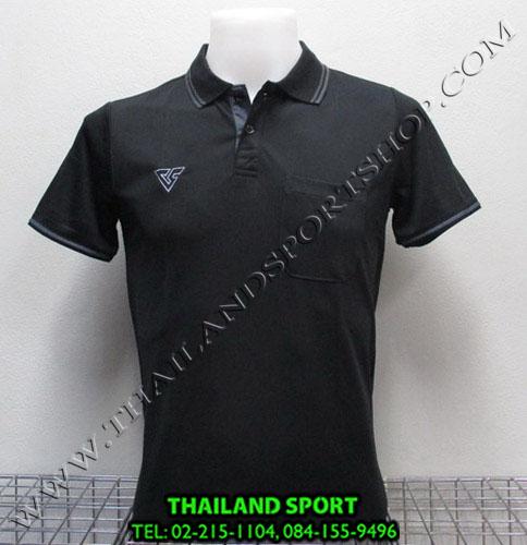 เสื้อโปโล กีฬา VERSUS รุ่น V-P004 (สีดำ A)