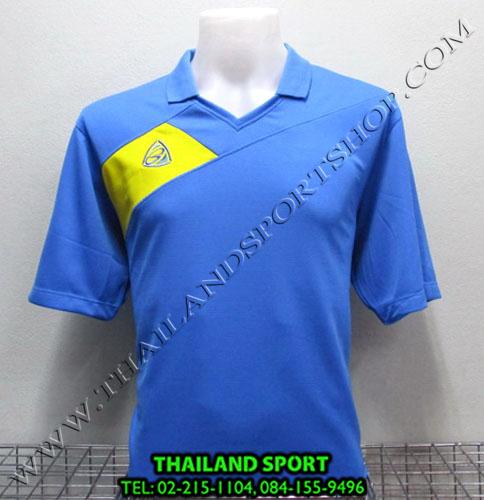 เสื้อกีฬา อีโก้ EGO SPORT รหัส EG 1011 (สีฟ้า L) คอปก