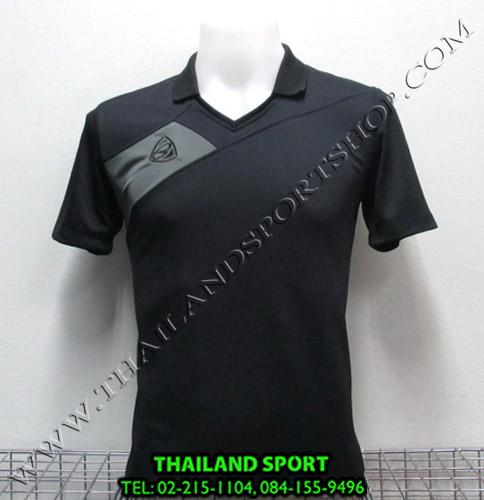 เสื้อกีฬา อีโก้ EGO SPORT รหัส EG 1011 (สีดำ A) คอปก