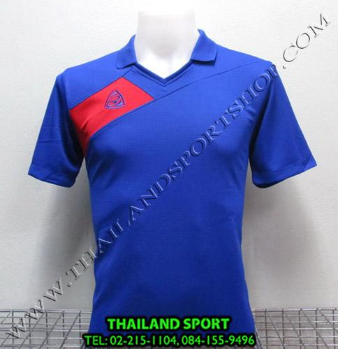 เสื้อกีฬา อีโก้ EGO SPORT รหัส EG 1011 (สีน้ำเงิน B) คอปก