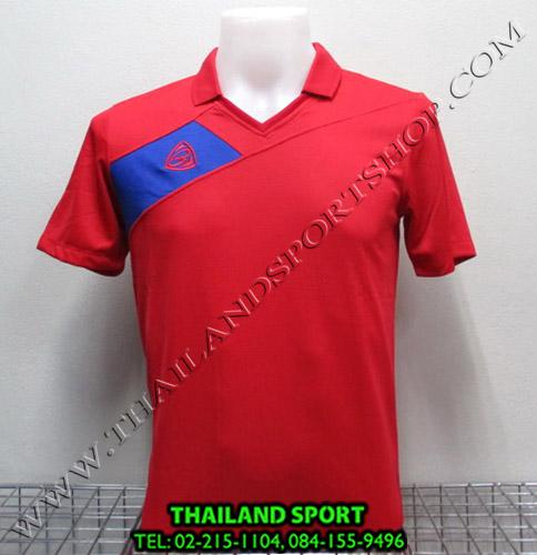 เสื้อกีฬา อีโก้ EGO SPORT รหัส EG 1011 (สีแดง R) คอปก