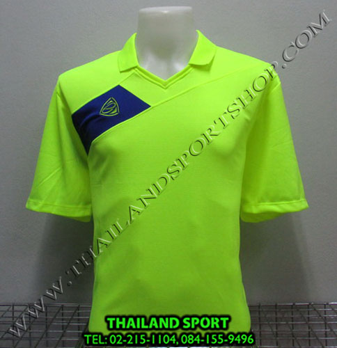 เสื้อกีฬา อีโก้ EGO SPORT รหัส EG 1011 (สีเขียวสะท้อน G2) คอปก