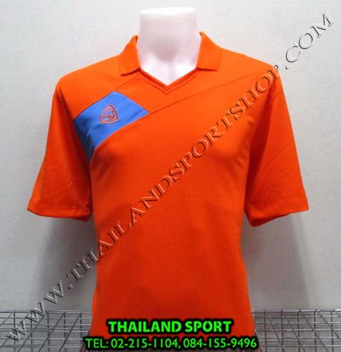 เสื้อกีฬา อีโก้ EGO SPORT รหัส EG 1011 (สีส้ม O) คอปก