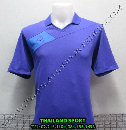 เสื้อกีฬา อีโก้ EGO SPORT รหัส EG 1011 (สีม่วง V) คอปก