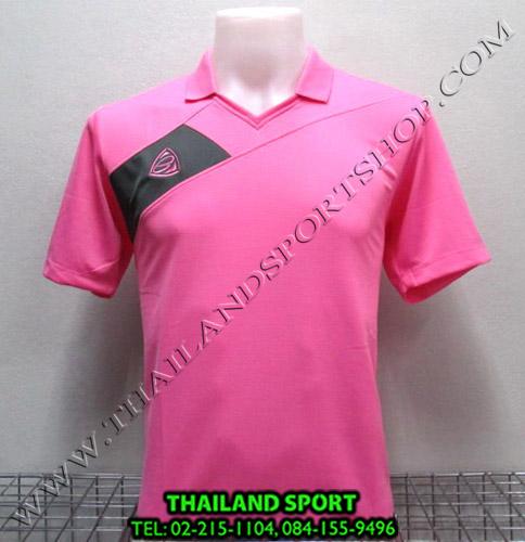 เสื้อกีฬา อีโก้ EGO SPORT รหัส EG 1011 (สีชมพู P) คอปก