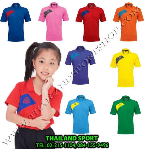 เสื้อกีฬาเด็ก คอปก EGO SPORT รุ่น EG 1011 (สี...)