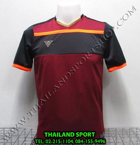 เสื้อกีฬา เวอร์ซูส VERSUS รุ่น VS-710 (สีเลือดหมู MU)