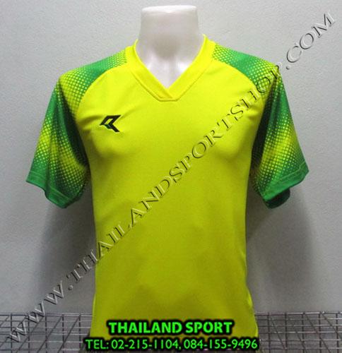 เสื้อกีฬา เรียล REAL รุ่น RAX-006 (สีเหลือง Y) พิมพ์ลาย