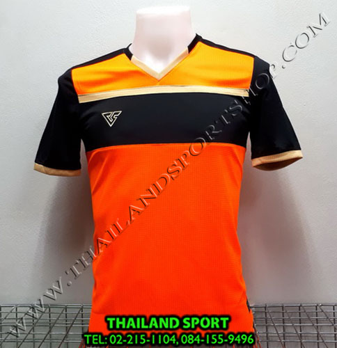 เสื้อกีฬา เวอร์ซูส VERSUS รุ่น VS-710 (สีส้มสะท้อน O)
