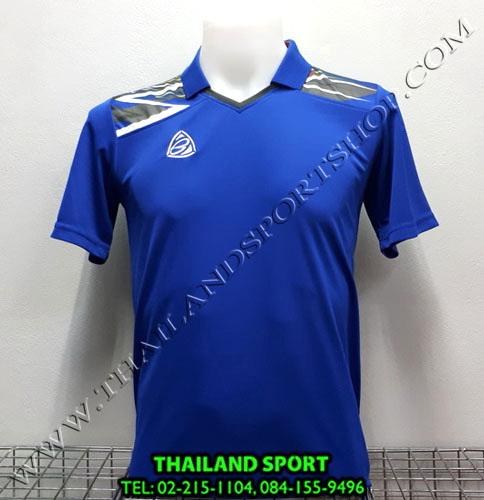 เสื้อกีฬา คอปก อีโก้ EGO SPORT รหัส EG-5114 (สีน้ำเงิน B)