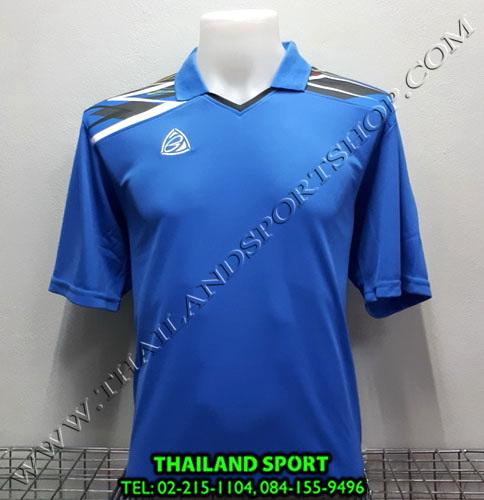 เสื้อกีฬา คอปก อีโก้ EGO SPORT รหัส EG-5114 (สีฟ้า L)