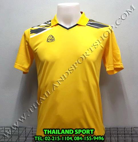 เสื้อกีฬา คอปก อีโก้ EGO SPORT รหัส EG-5114 (สีเหลือง Y)