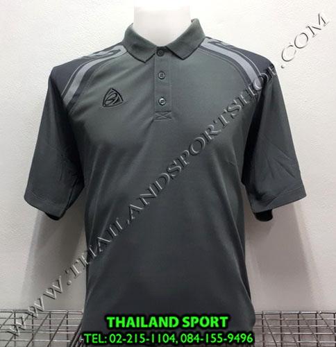 เสื้อ POLO อีโก้ EGO SPORT รุ่น EG 6131 (สีเทาเปียกปูน) MAN