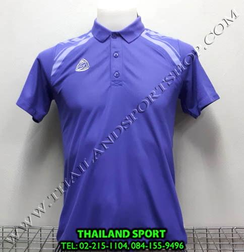 เสื้อ POLO อีโก้ EGO SPORT รุ่น EG 6131 (สีม่วงเข้ม) MAN